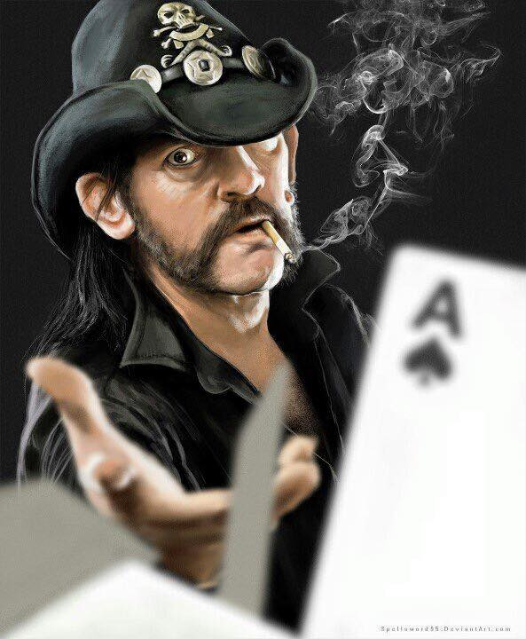 Lemmy — a ka  Ian Fraser Kilmister of the band Motörhead is