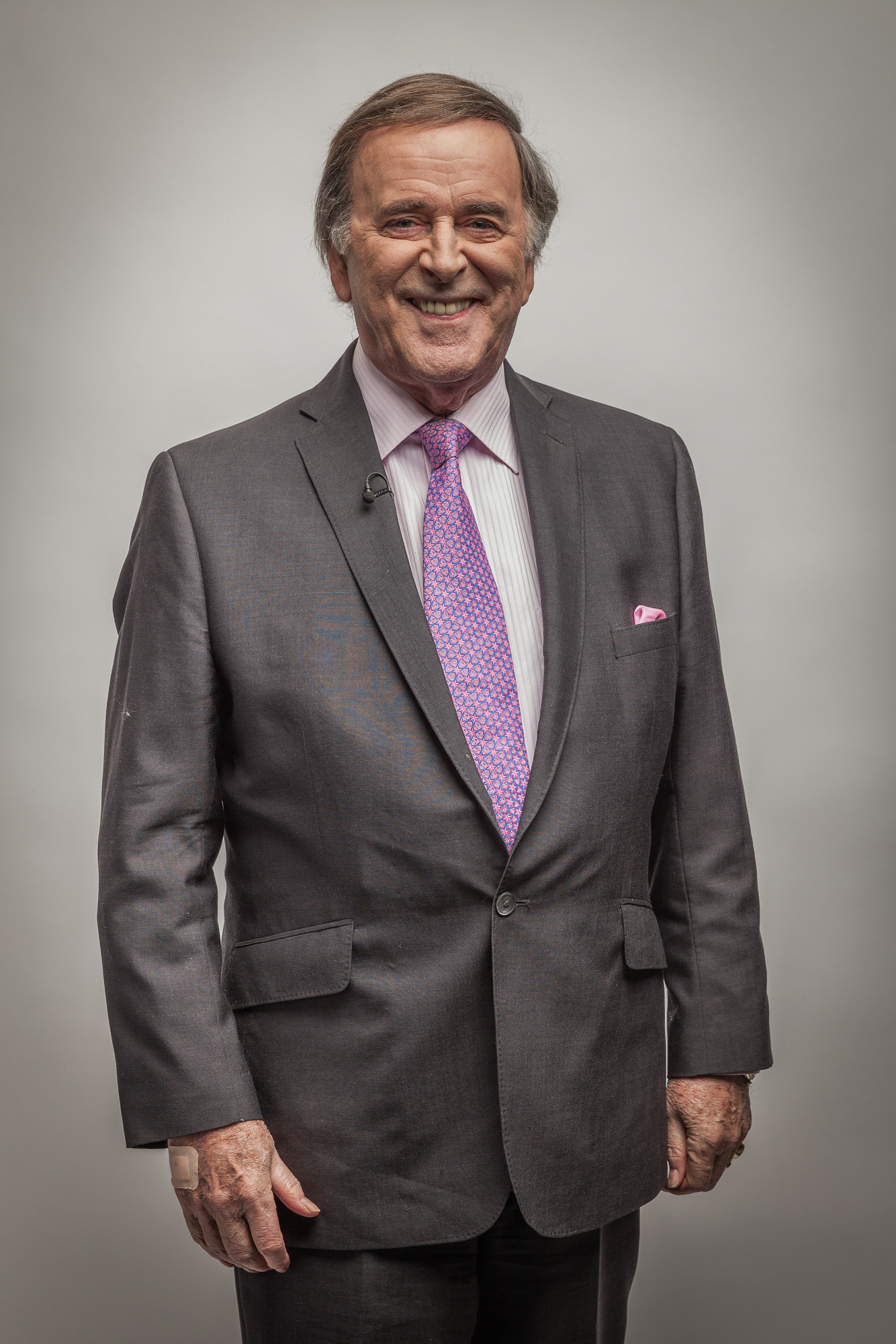 Programme Name: Goodbye Television Centre - TX: n/a - Episode: n/a (No. n/a) - Embargoed for publication until: n/a - Picture Shows: Sir Terry Wogan - (C) BBC - Photographer: Guy Levy