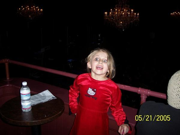 Matea at her 1st show  - 2005